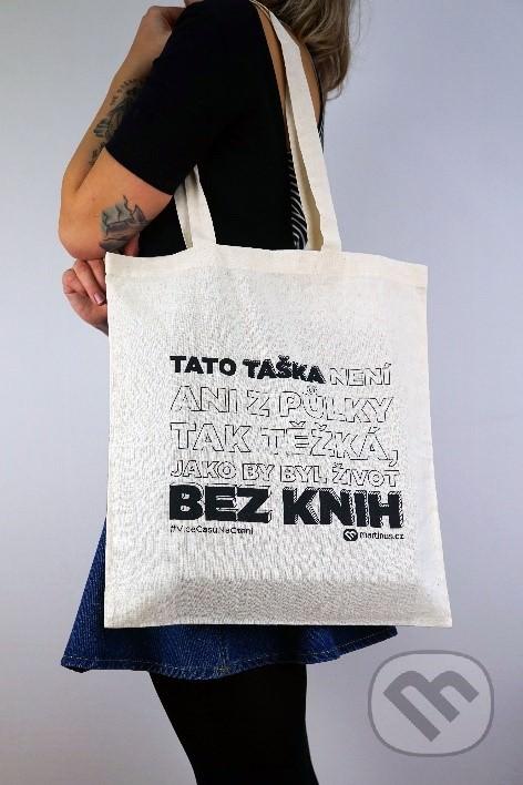 Plátěná taška snápisem zMartinus.cz