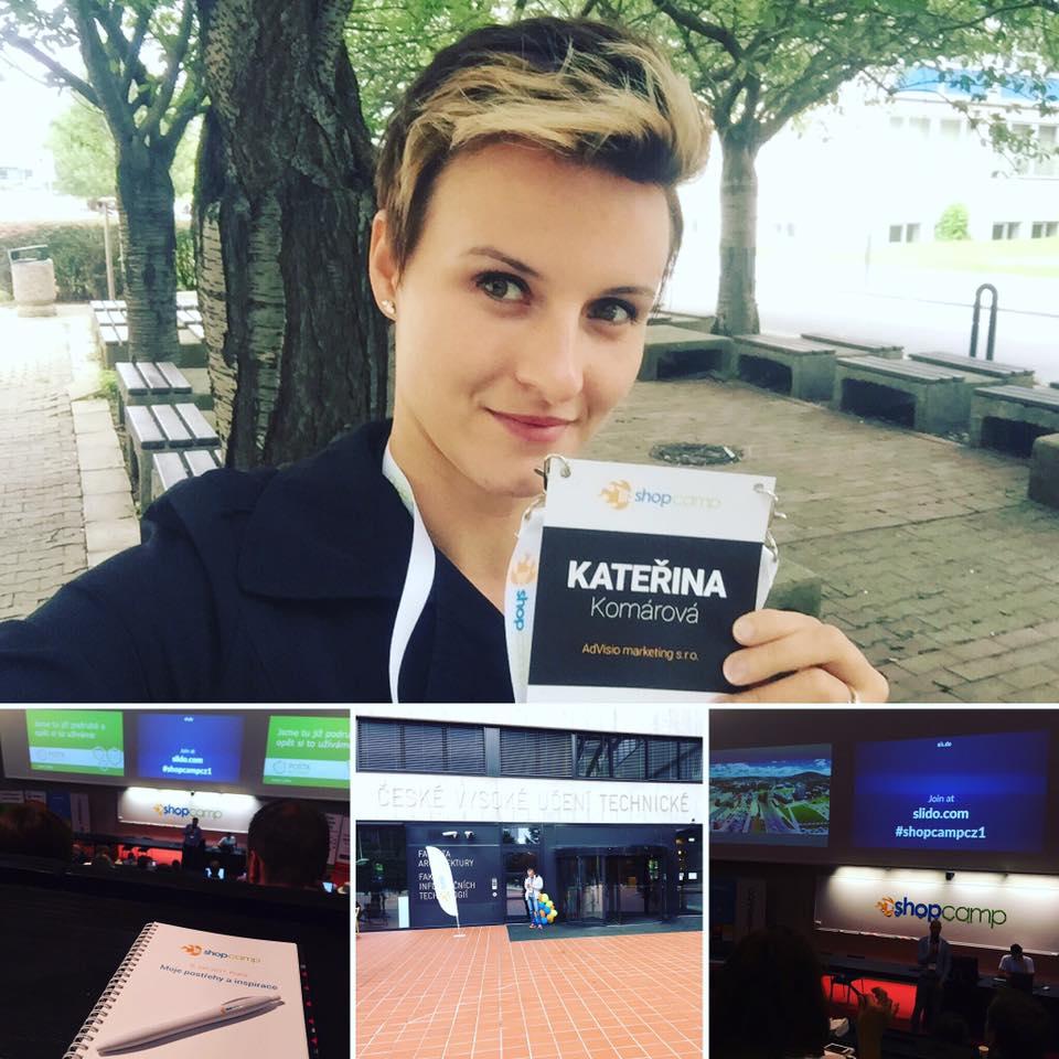 ShopCamp 2017 objektivem obchoďačky Katky